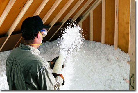 JM Fiberglass Attic Insulation photo