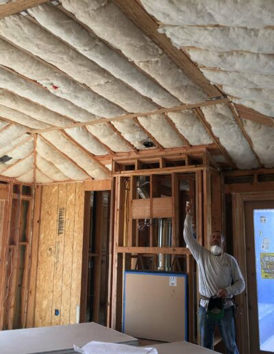 Insulated Ceiling in Custom Home